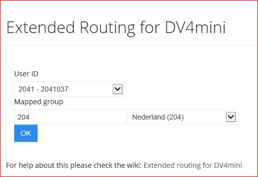 Extended routing