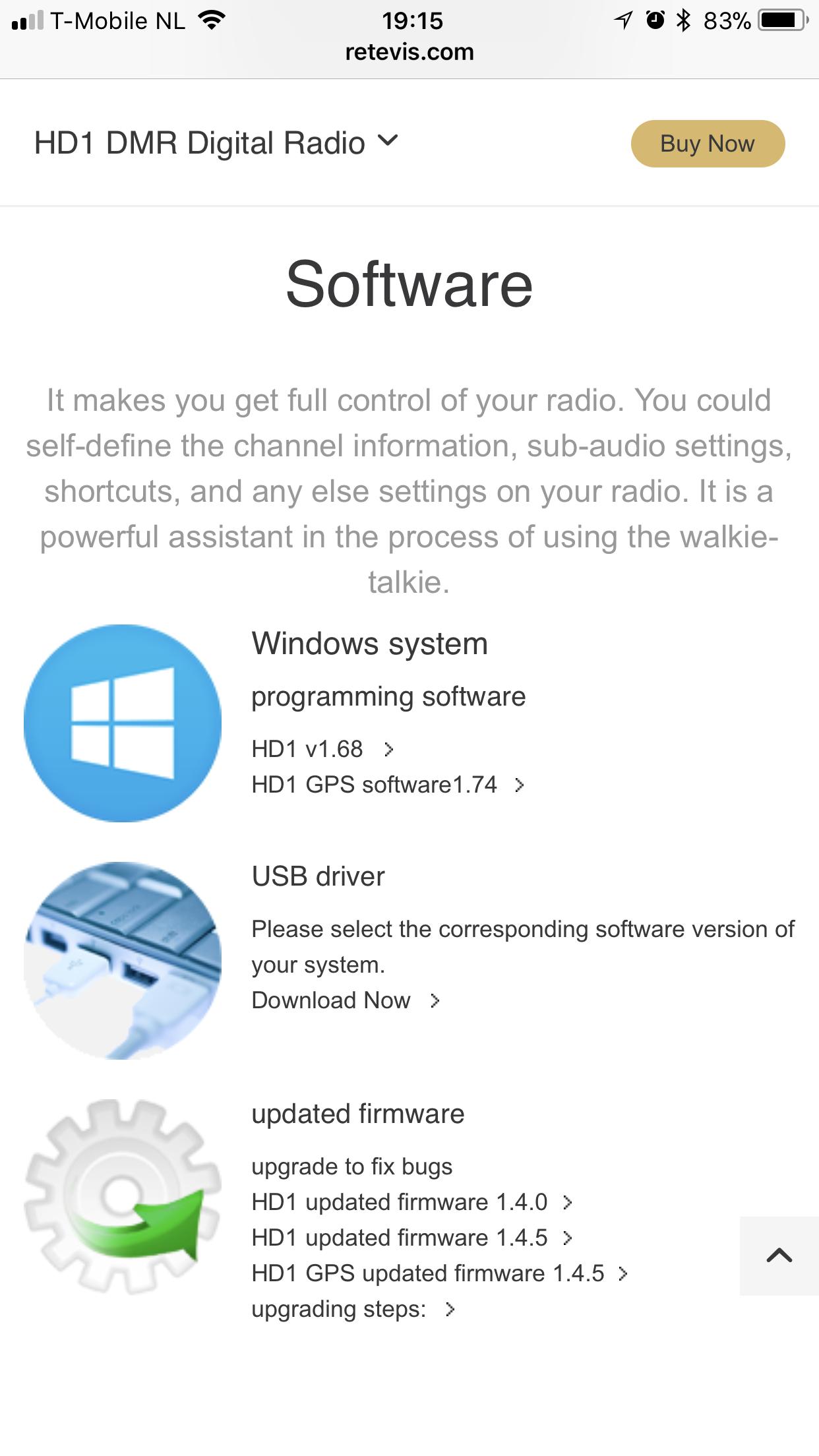 Nieuwe firmware voor de Ailunce HD1   HamDigitaal nl