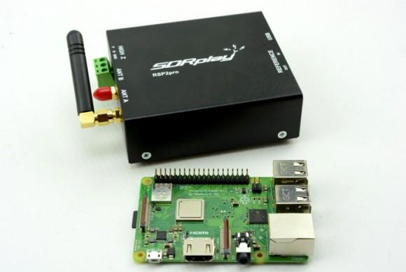 Bouw een Remote SDR met een Pi 3 Model B+ en SDRplay RSP2